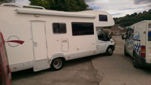 Motorhome valeting West Yorkshire