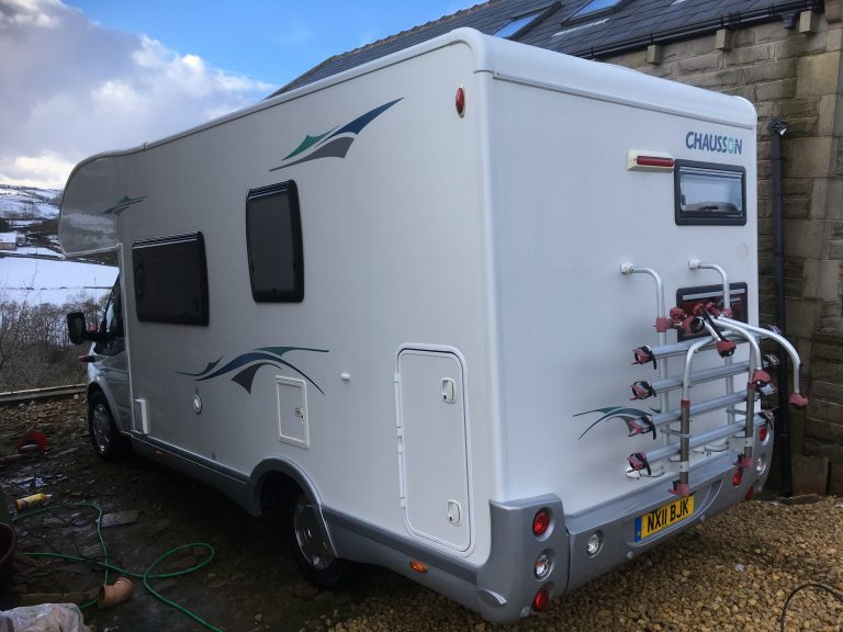 Mobile motorhome valeting and cleaning near me