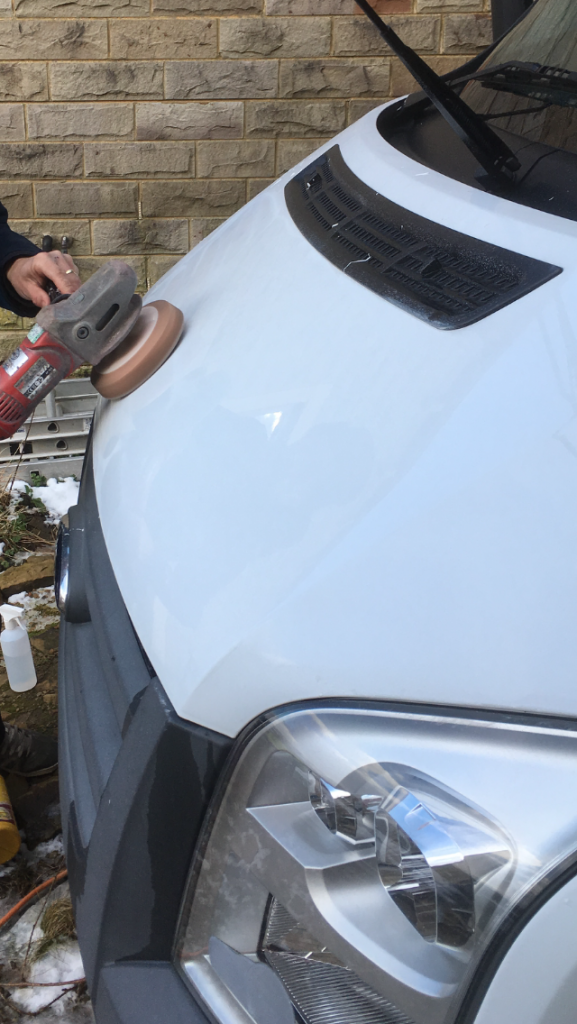 Mobile motorhome valeting and cleaning Sheffield
