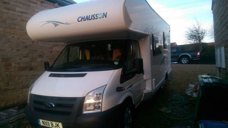 Mobile motorhome valeting and cleaning Harrogate