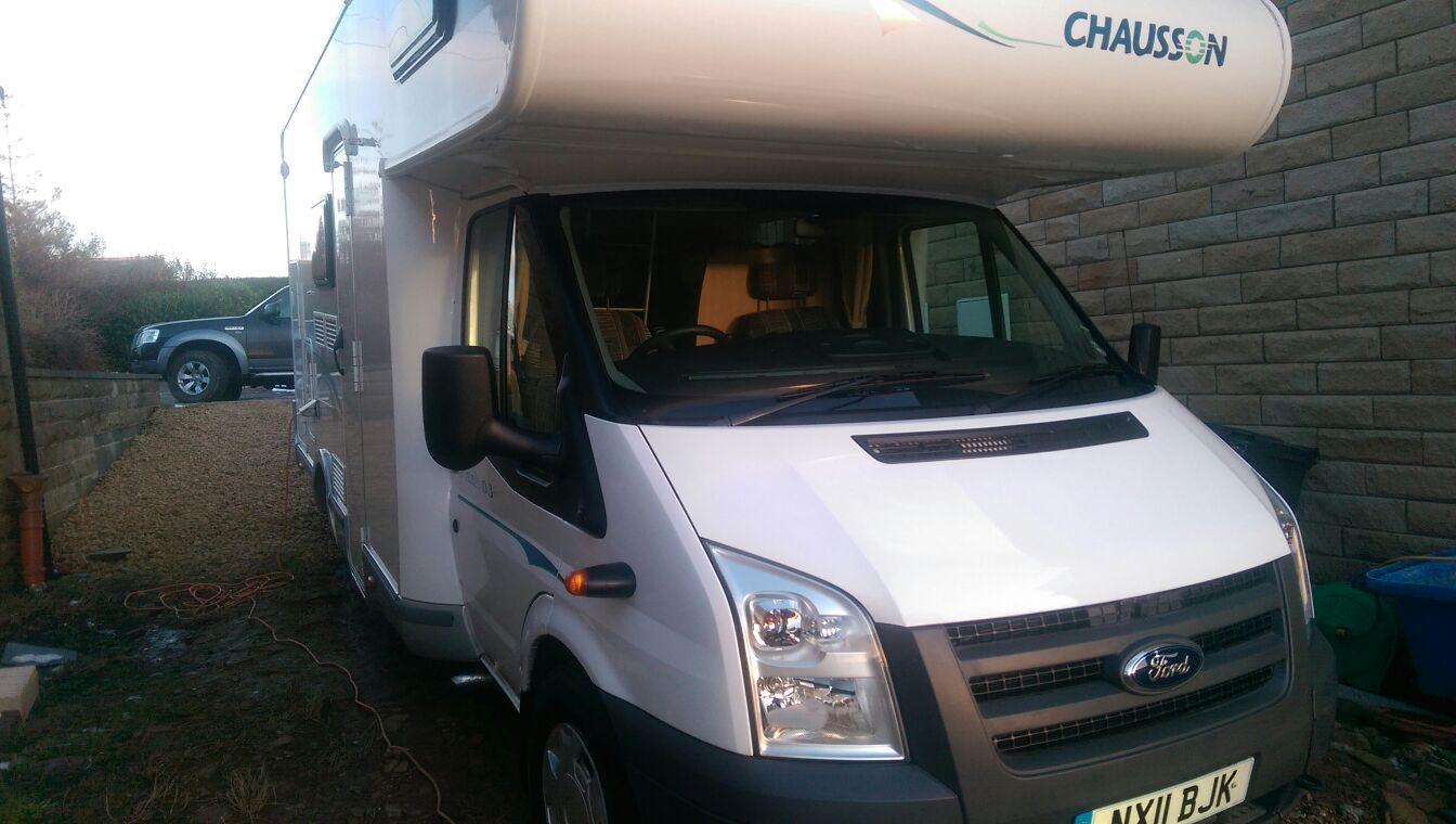 Mobile motorhome valeting and cleaning Huddersfield