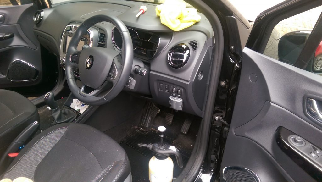 Mobile car valeting near mirfield ssa valeting and - Car wash interior shampoo near me ...