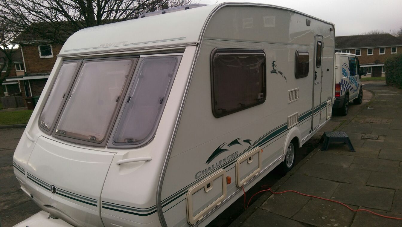 Caravan valeting in West Yorkshire