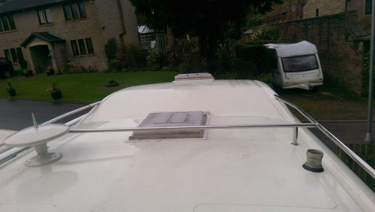 Motorhome cleaning in West Yorkshire