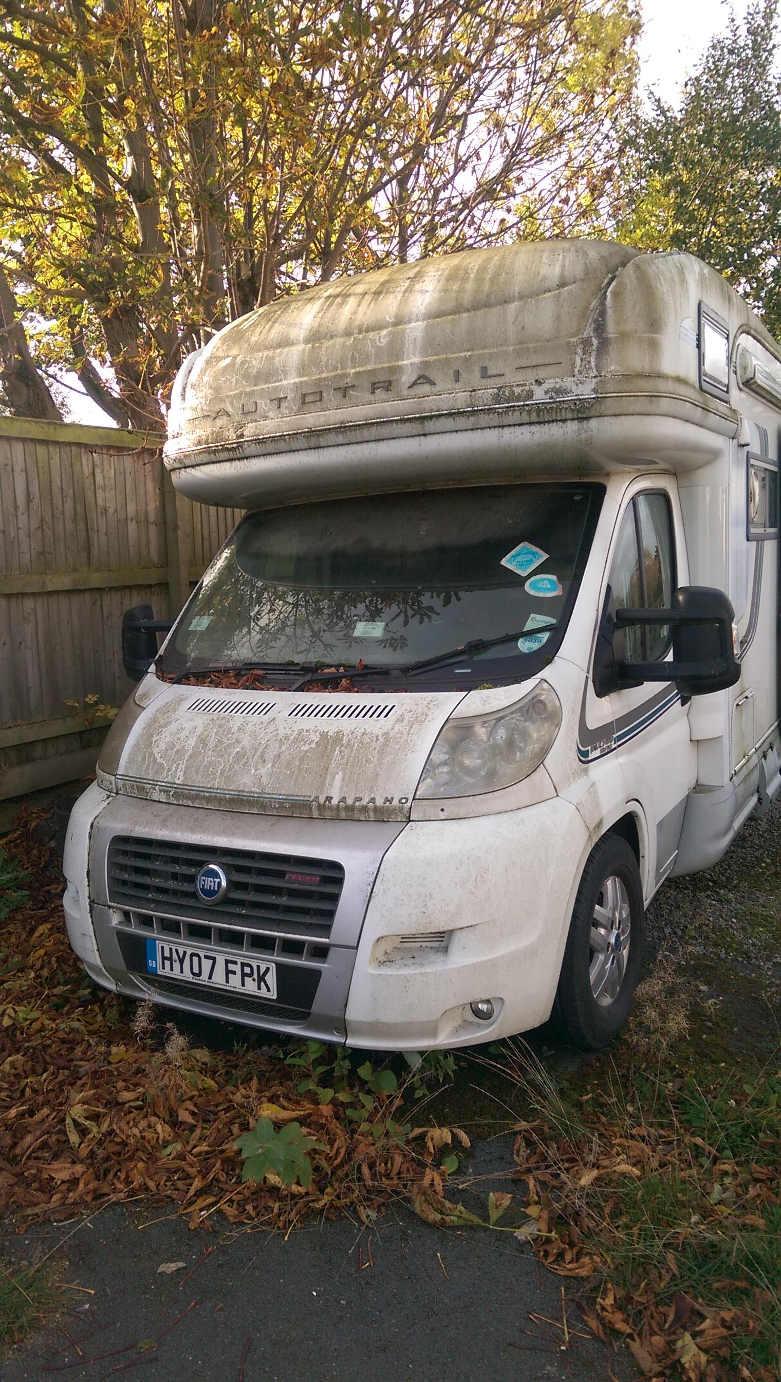 Motorhome and caravan valeting in Leeds