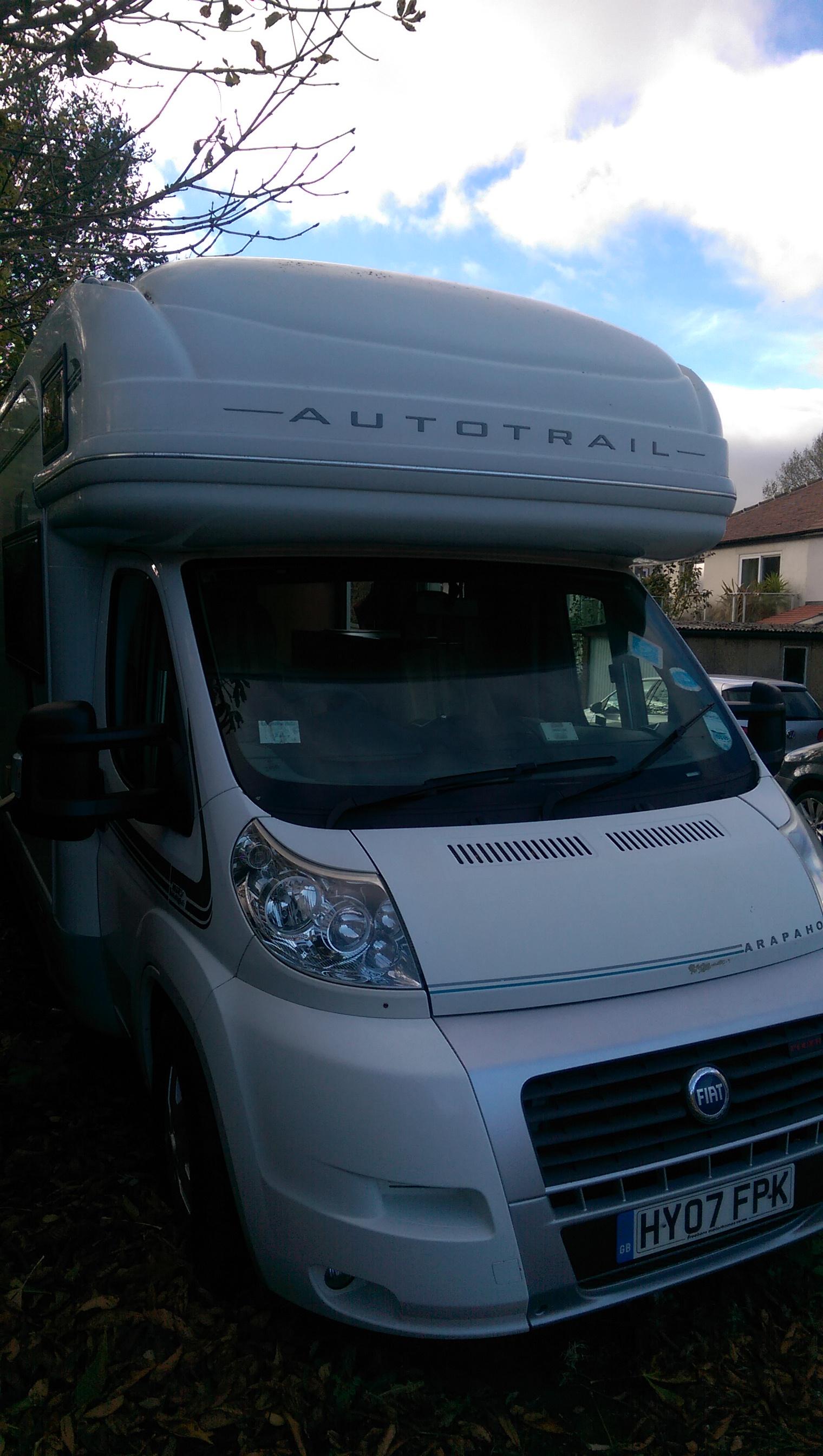 Motorhome and caravan valeting in Barnsley