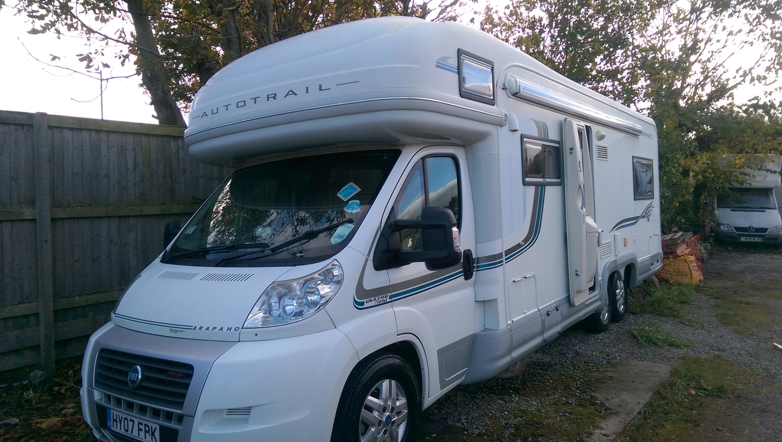 Motorhome And Caravan Valeting In Leeds Ssa Valeting And