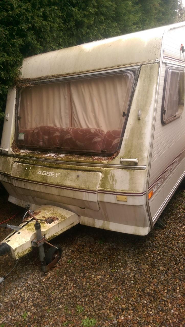 Caravan valeting in Derby