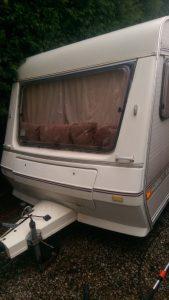 Caravan valeting in Chesterfield