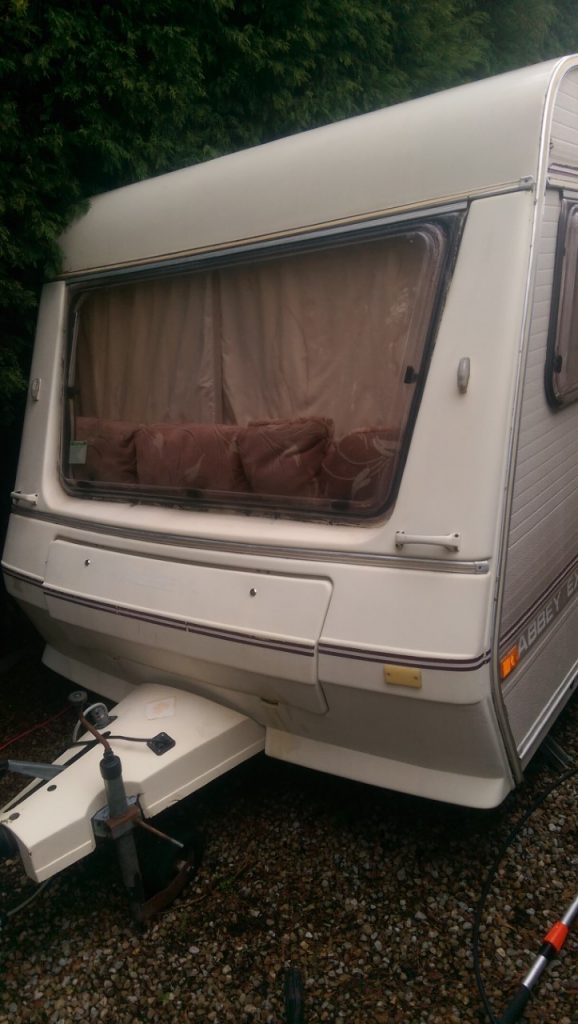 Caravan valeting in Hull