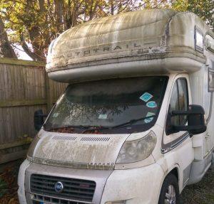 Motorhome valeting in Sheffield